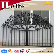 Oriental antique iron fancy gate boundary wall gate design
